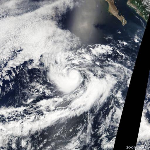 Hurricane Gilma 2012