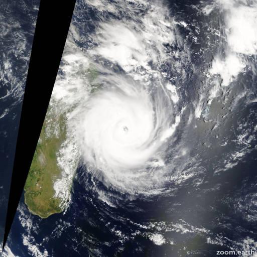 Cyclone Giovanna 2012