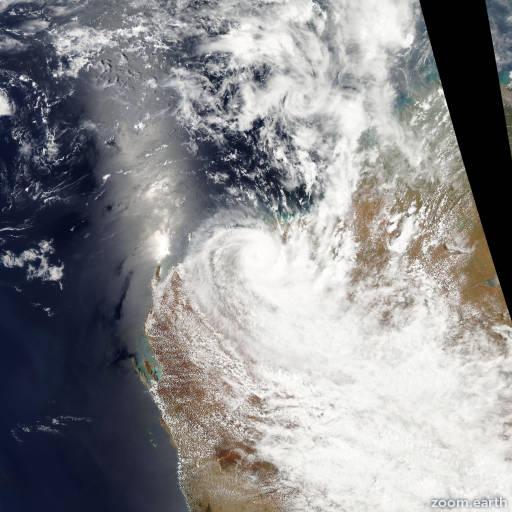 Cyclone Heidi 2012