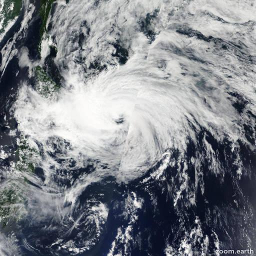 Satellite image of Storm Kirogi 2012