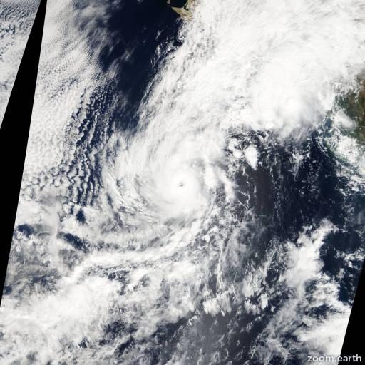 Hurricane Paul 2012
