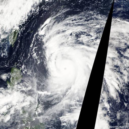 Typhoon Sanba 2012