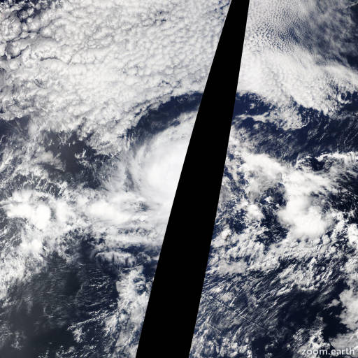 Satellite image of Hurricane Gil 2013