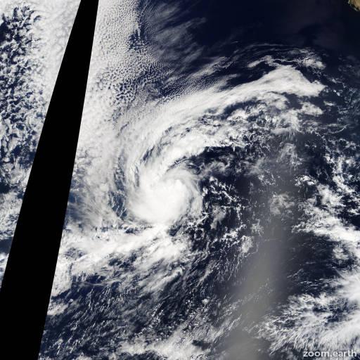 Satellite image of Storm Narda 2013