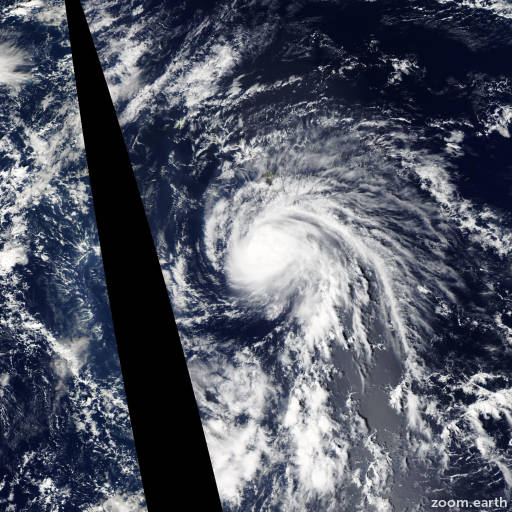 Satellite image of Hurricane Ana 2014