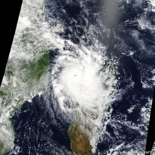 Cyclone Hellen 2014