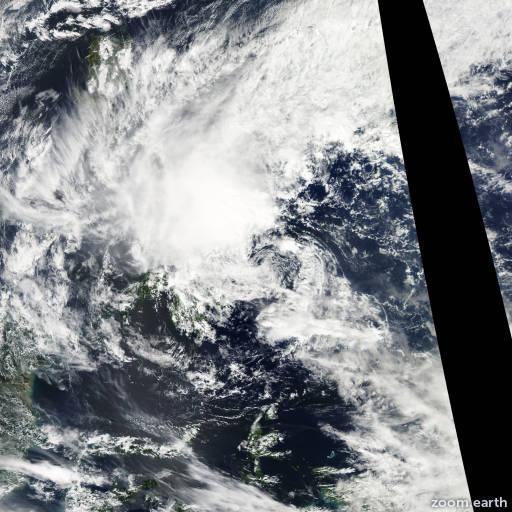 Satellite image of Depression Lingling 2014