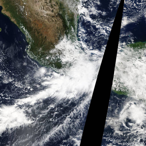 Satellite image of Storm Trudy 2014