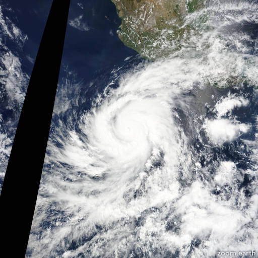 Hurricane Blanca 2015