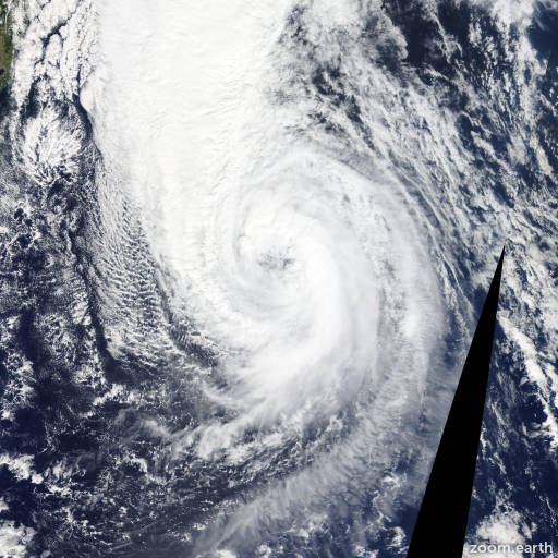 Satellite image of Storm Choi-Wan 2015