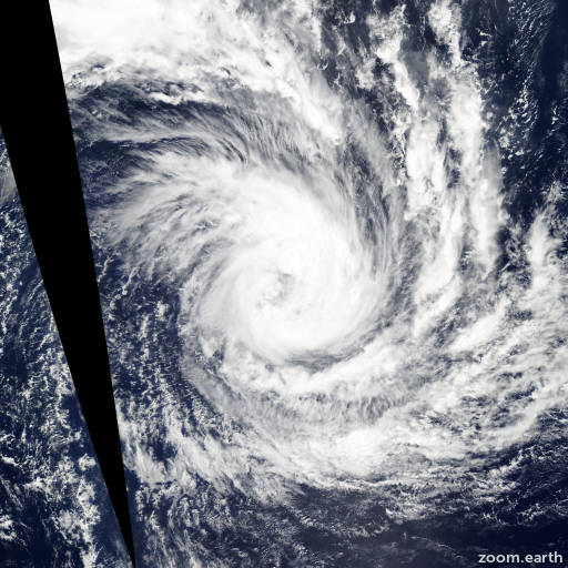 Satellite image of Storm Glenda 2015