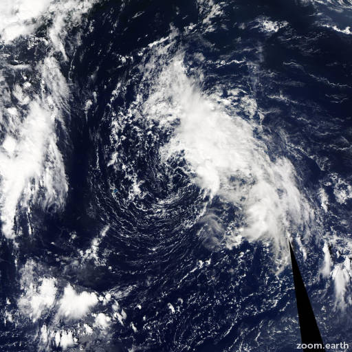 Satellite image of Storm Henri 2015