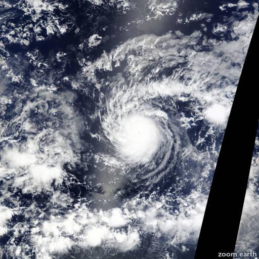 Satellite image of Hurricane Hilda 2015