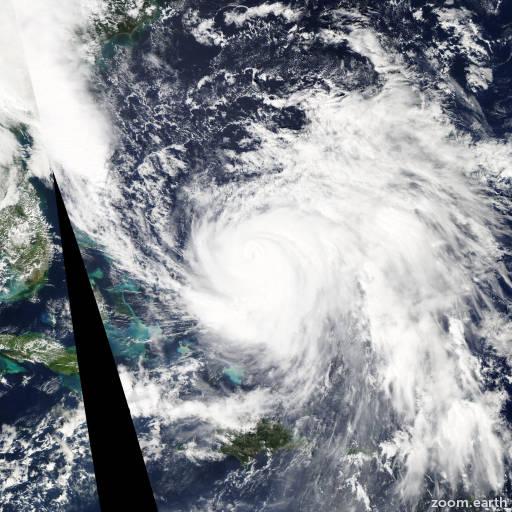 Satellite image of Hurricane Joaquin 2015