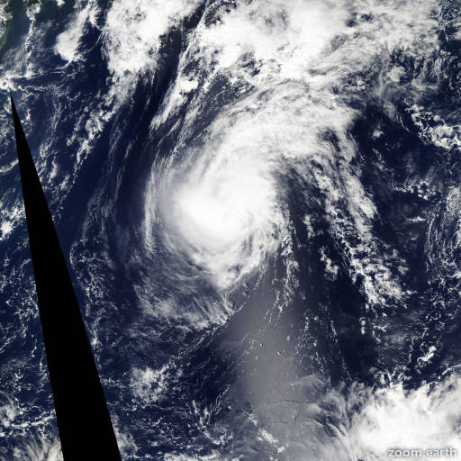 Satellite image of Typhoon Krovanh 2015