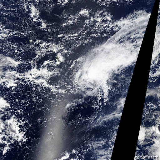 Satellite image of Storm Niala 2015