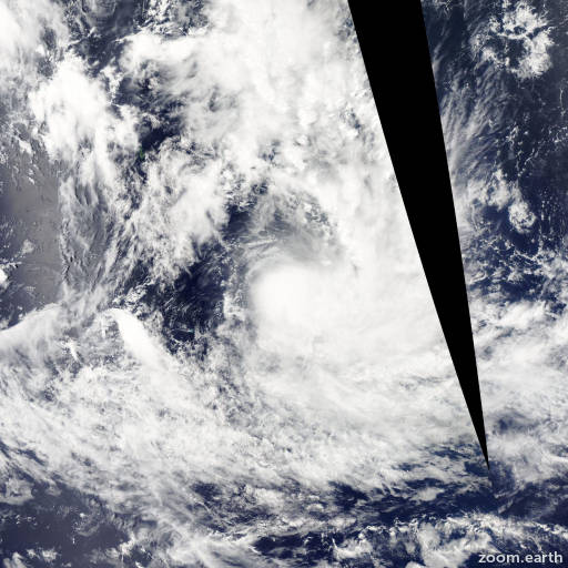 Satellite image of Cyclone Niko 2015