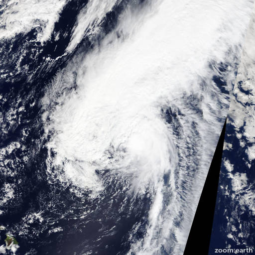 Satellite image of Hurricane Oho 2015