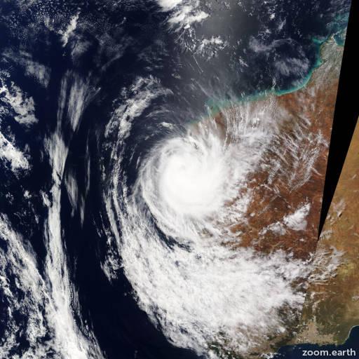 Cyclone Olwyn 2015