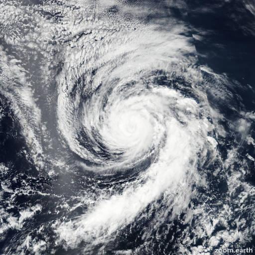 Satellite image of Hurricane Celia 2016