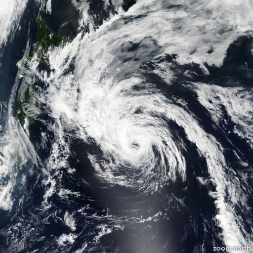 Satellite image of Storm Conson 2016