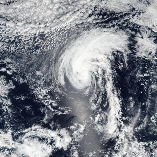 Satellite image of Storm Howard 2016