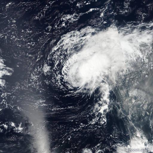 Satellite image of Storm Lisa 2016