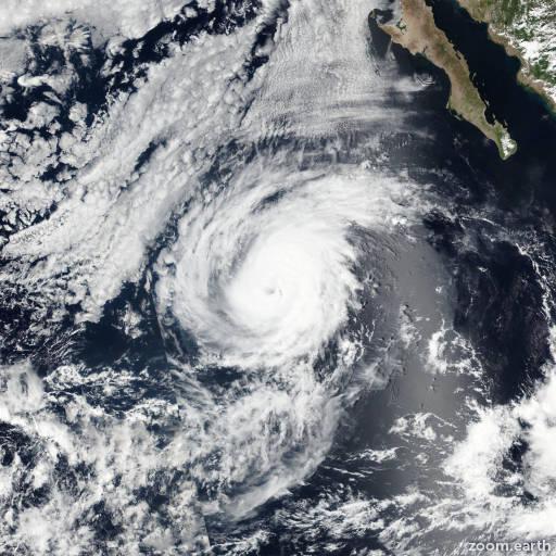 Hurricane Orlene 2016