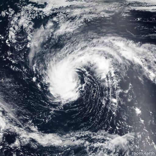Satellite image of Storm Kulap 2017