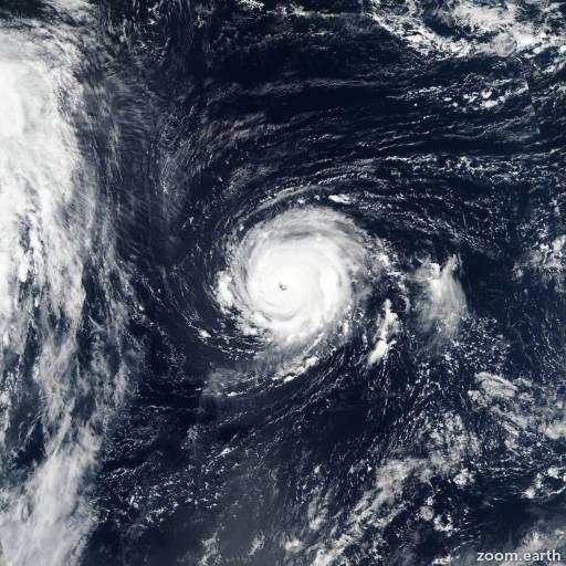 Satellite image of Hurricane Lee 2017
