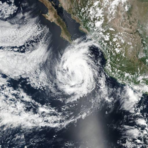 Hurricane Norma 2017