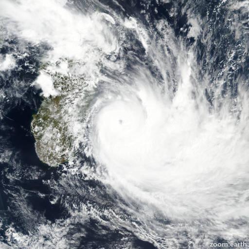 Cyclone Dumazile 2018