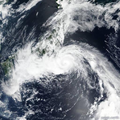 Typhoon Jongdari 2018