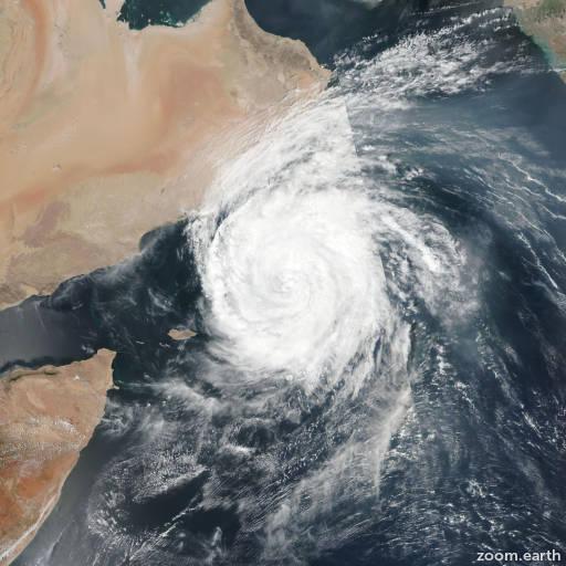 Cyclone Luban 2018