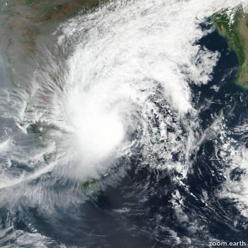 Cyclone Phethai 2018
