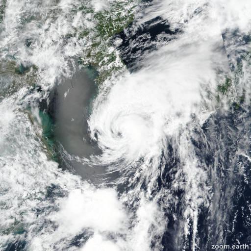 Typhoon Prapiroon (Florita) 2018