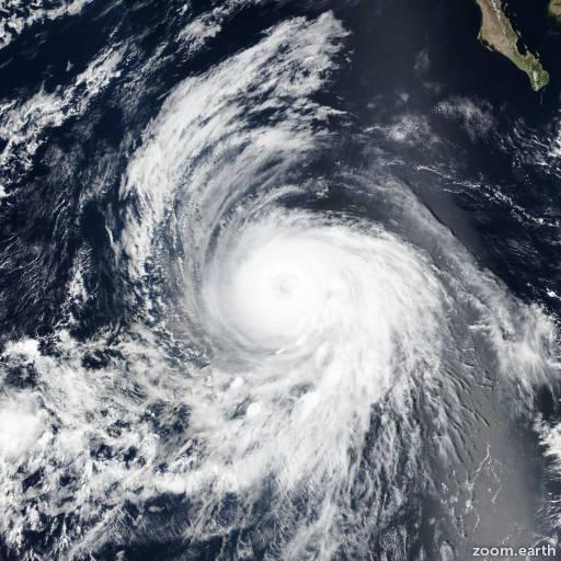 Hurricane Sergio 2018