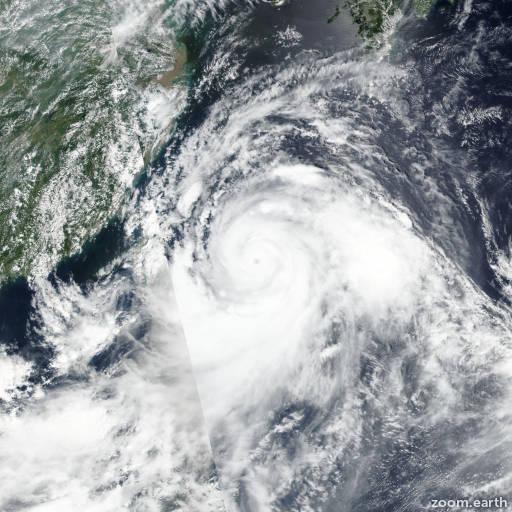 Typhoon Lekima (Hanna) 2019