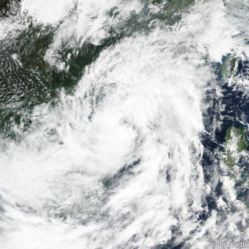 Storm Nangka (Nika) 2020