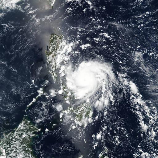 Typhoon Vongfong (Ambo)